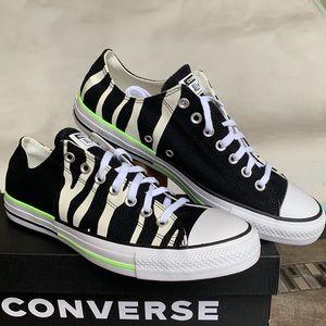 CONVERSE CTAS OX BLACK/EGRET/GHOST GREEN MEN'S